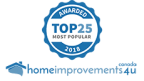 Top 25 Most Popular Award winner for 2018